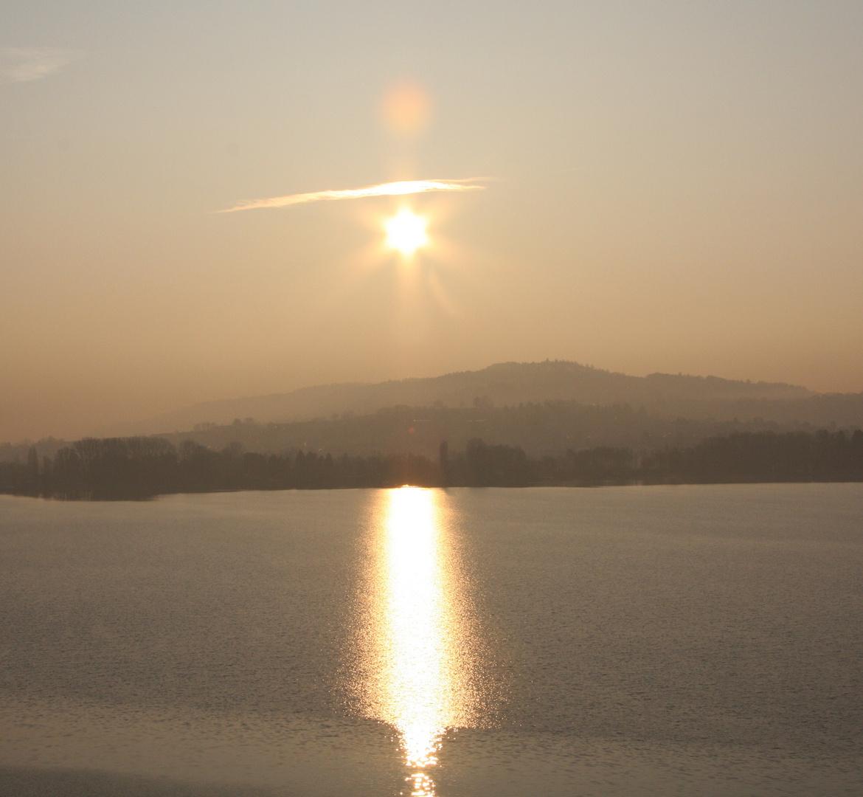 Aufwachen am Bielersee