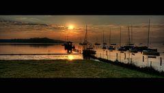Aufwachen der Boote ;-) ...