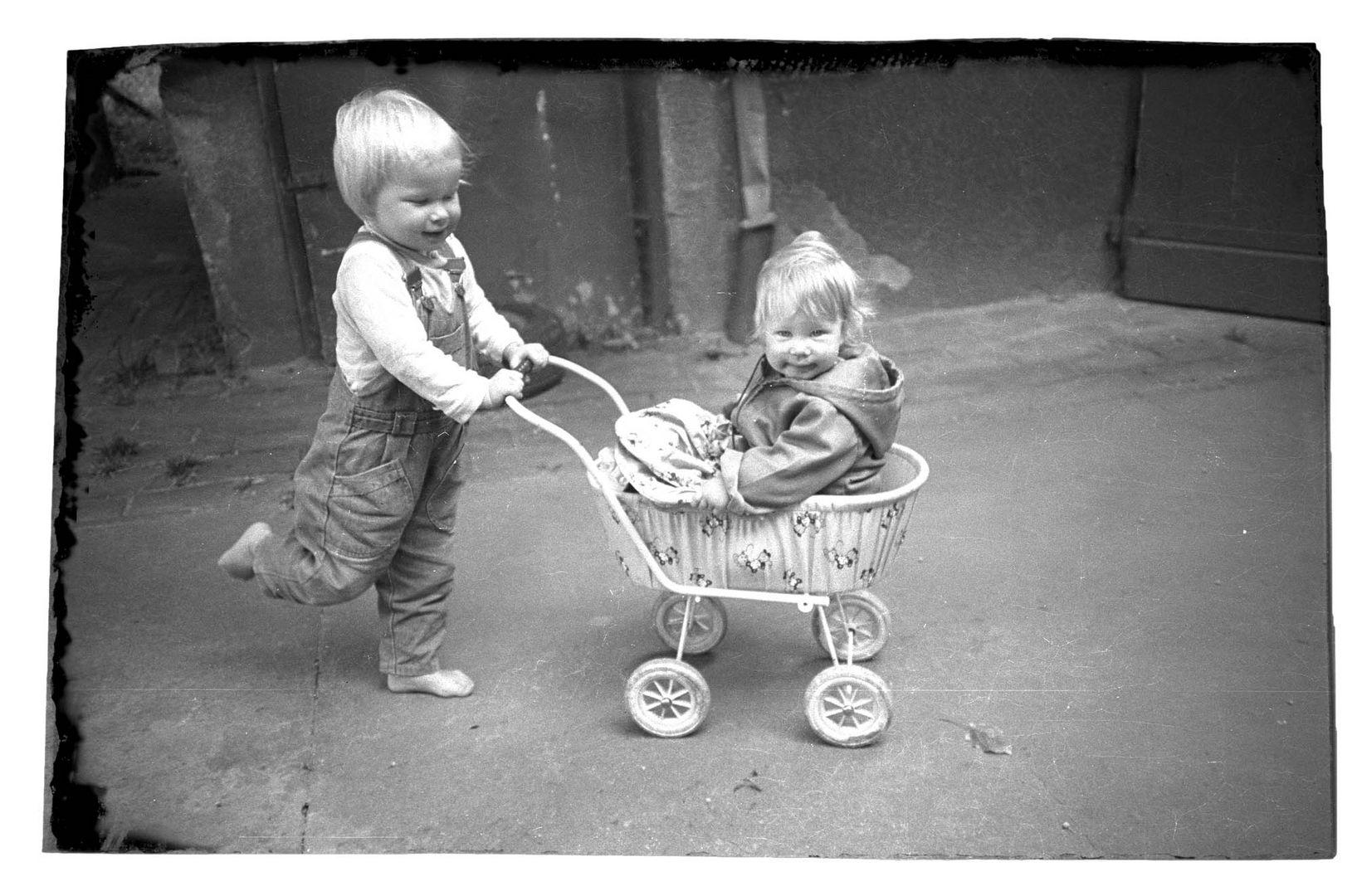 Aufwachsen im Schatten der Hütte anno 1990