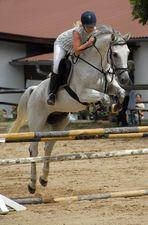 Aufwärmen für Pferd und Reiterin