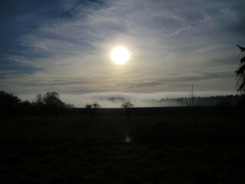 Aufziehender Nebel I