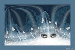 Augen der Eiskönigin