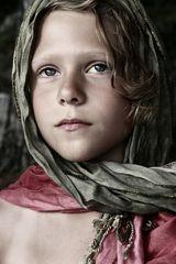 Augen einer Siebenjährigen