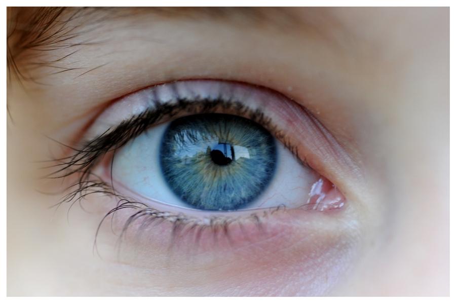 Augen sind der Spiegel der Seele.