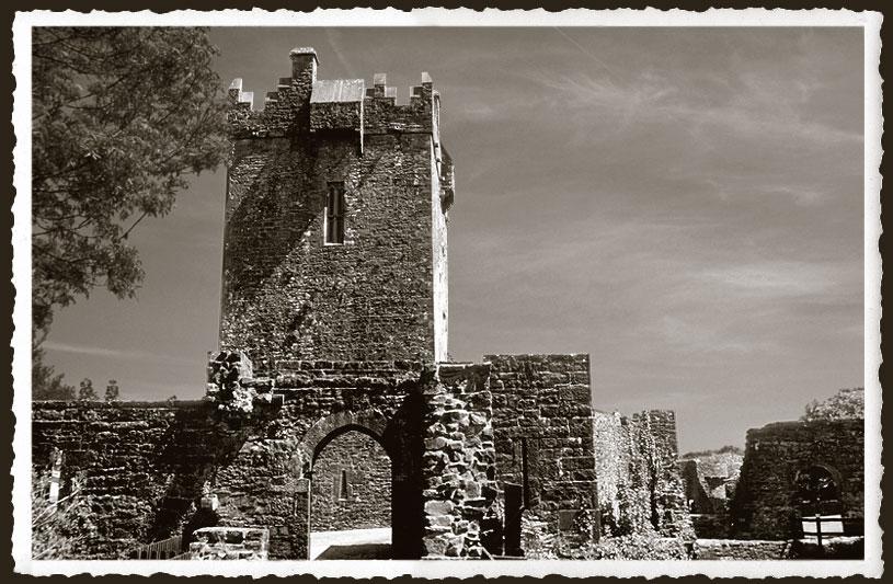 Aughnanure Castle und die wilden O'Flahertys...