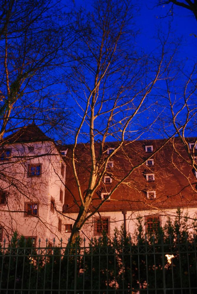 Augsburg by night