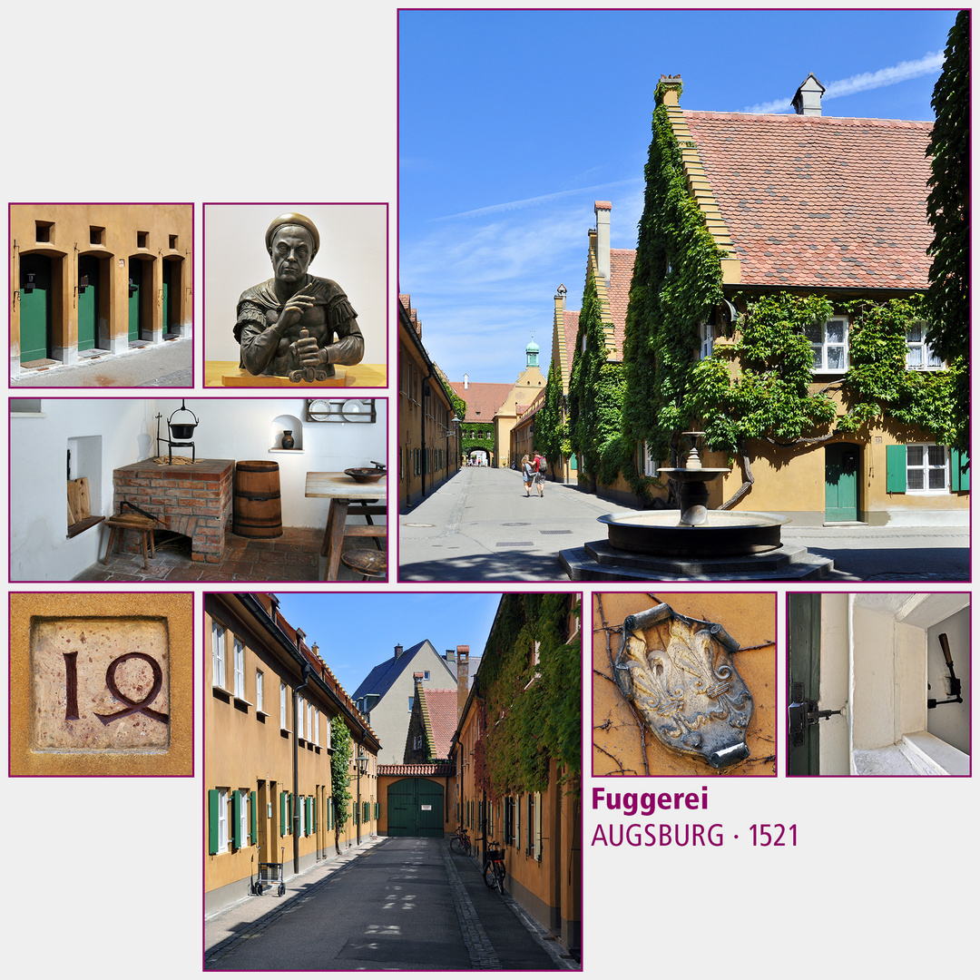 Augsburg · Fuggerei