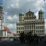 Augsburg: Rathaus und Perlachturm