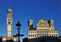 Augsburg - Rathaus und Perlachturm