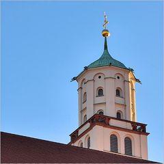 Augsburg - Turm der St. Moritzkirche