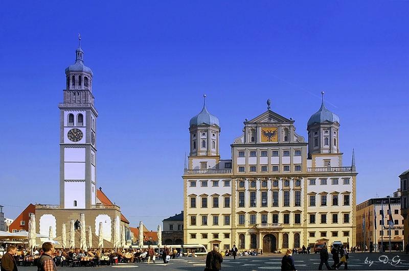Augsburger Rathausplatz