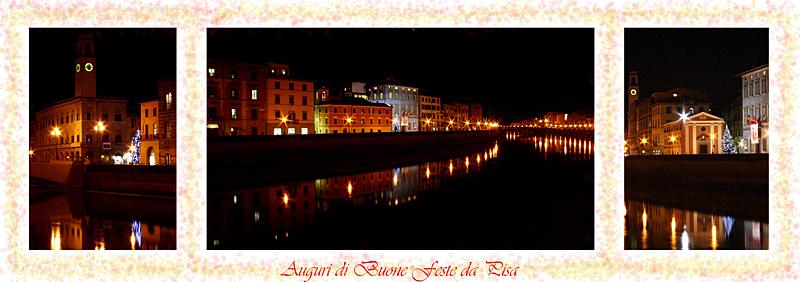 Auguri di Buone Feste da Pisa