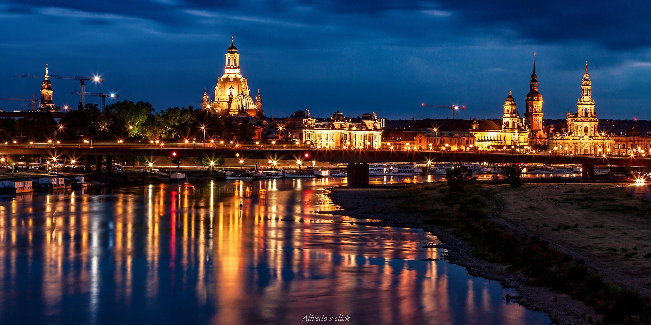 Augustusbrücke -Dresden