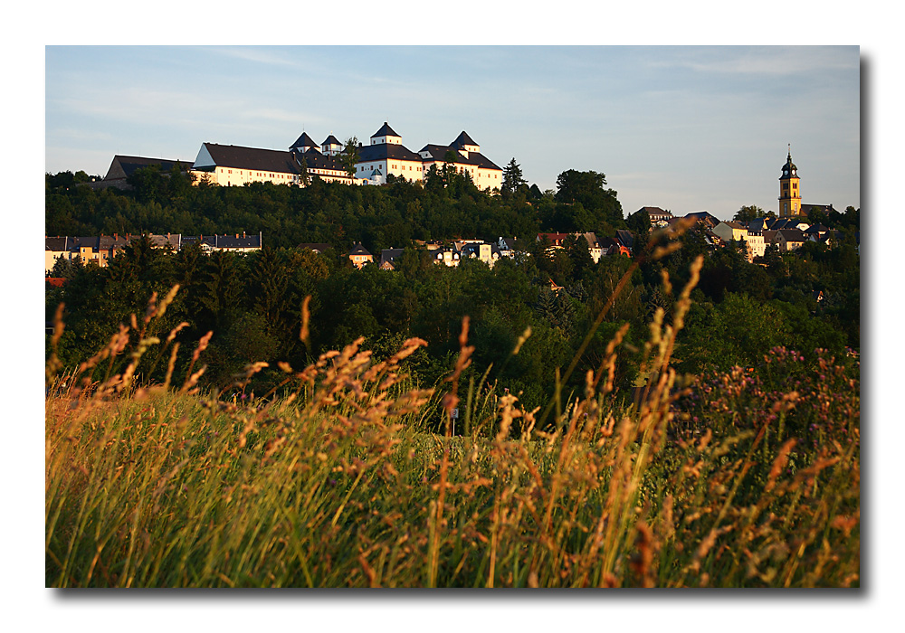 Augustusburg am Morgen (2)