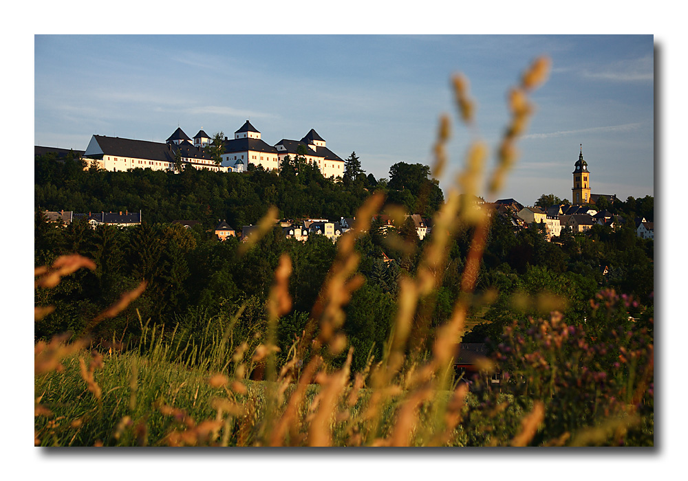 Augustusburg am Morgen