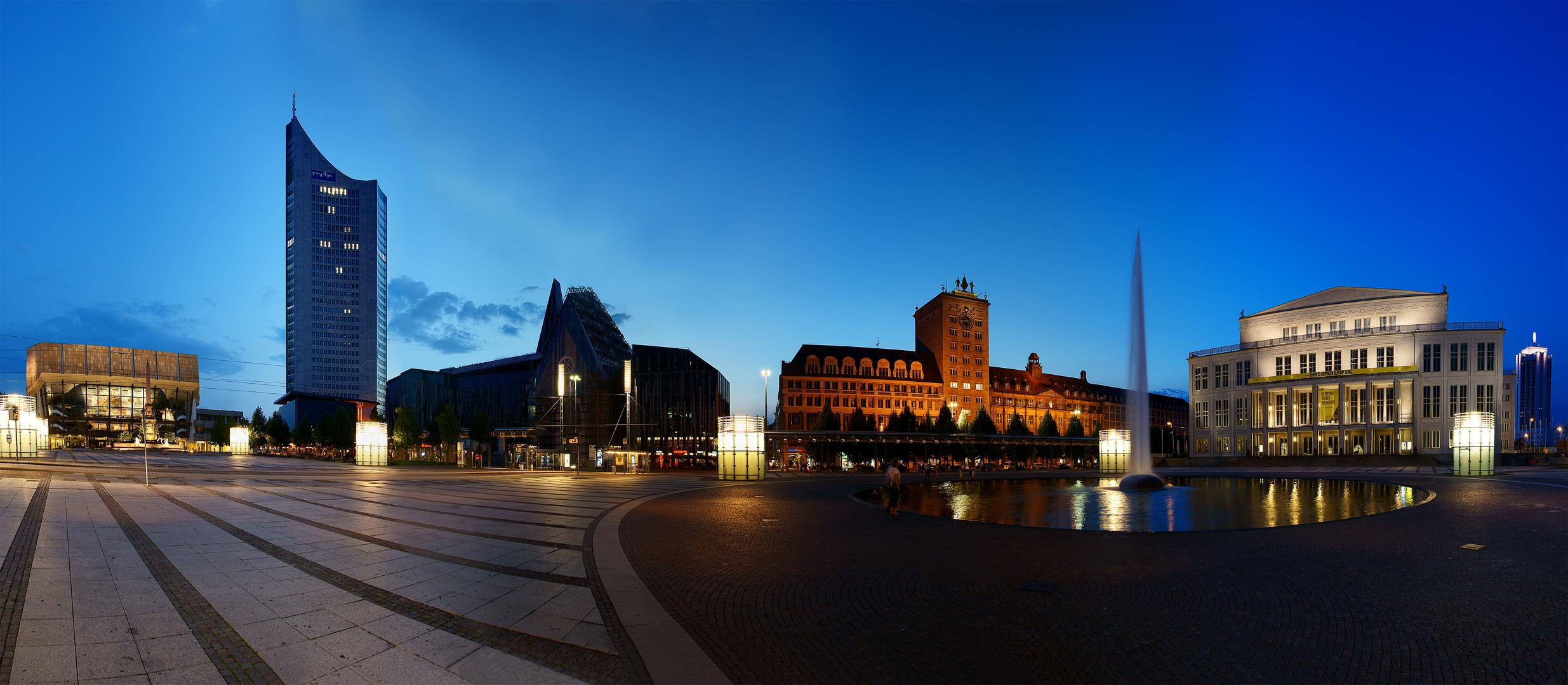 Augustusplatz in Leipzig