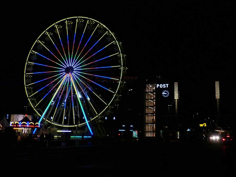 Augustusplatz mit Riesenrad
