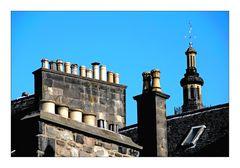 Auld Reekie .. Über die Dächer von Edinburgh