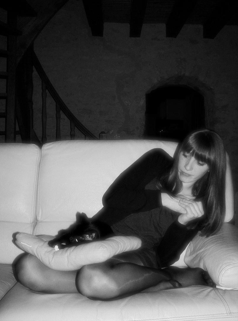 Aurélie et le chat