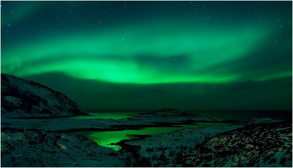 ~ aurora and norwegian coast ~