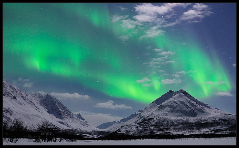 Aurora at Nakkevatnet