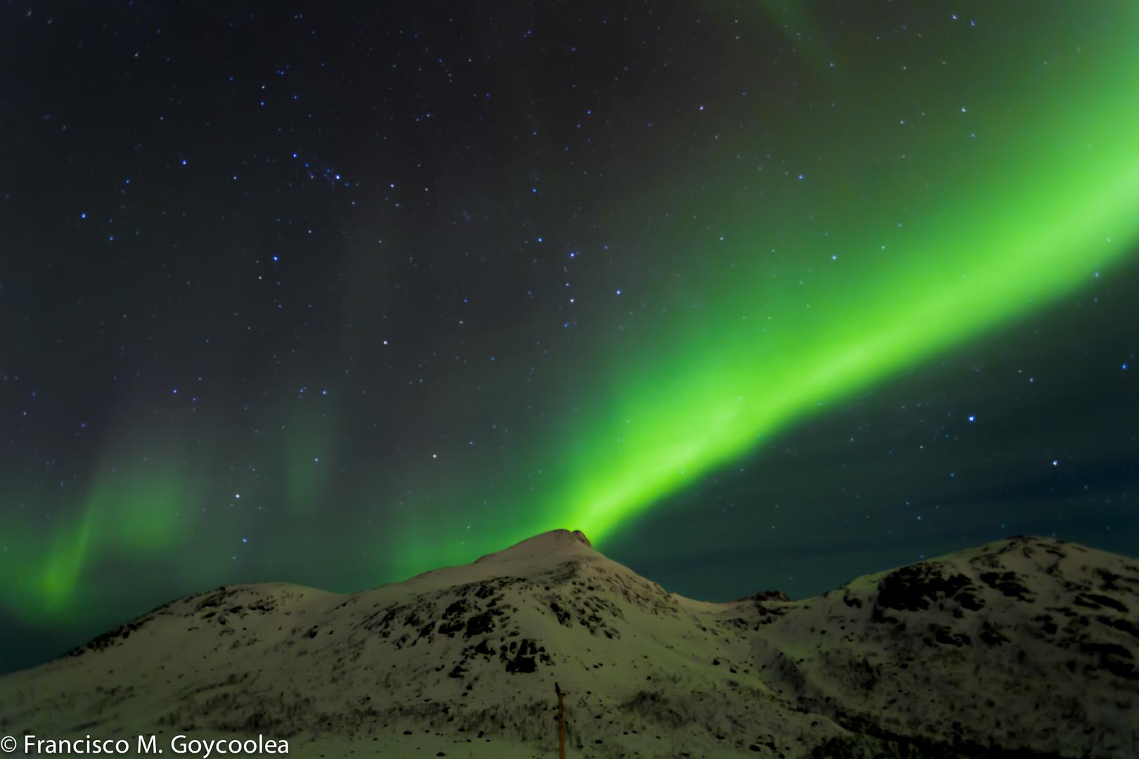 Aurora borealis - Near Tromso