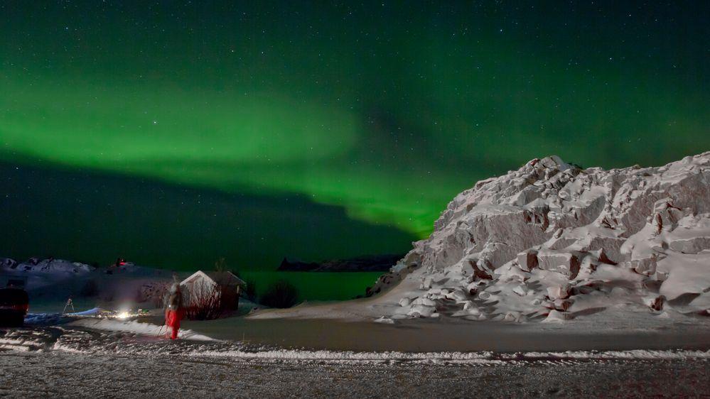 Aurora borealis Sommaroy