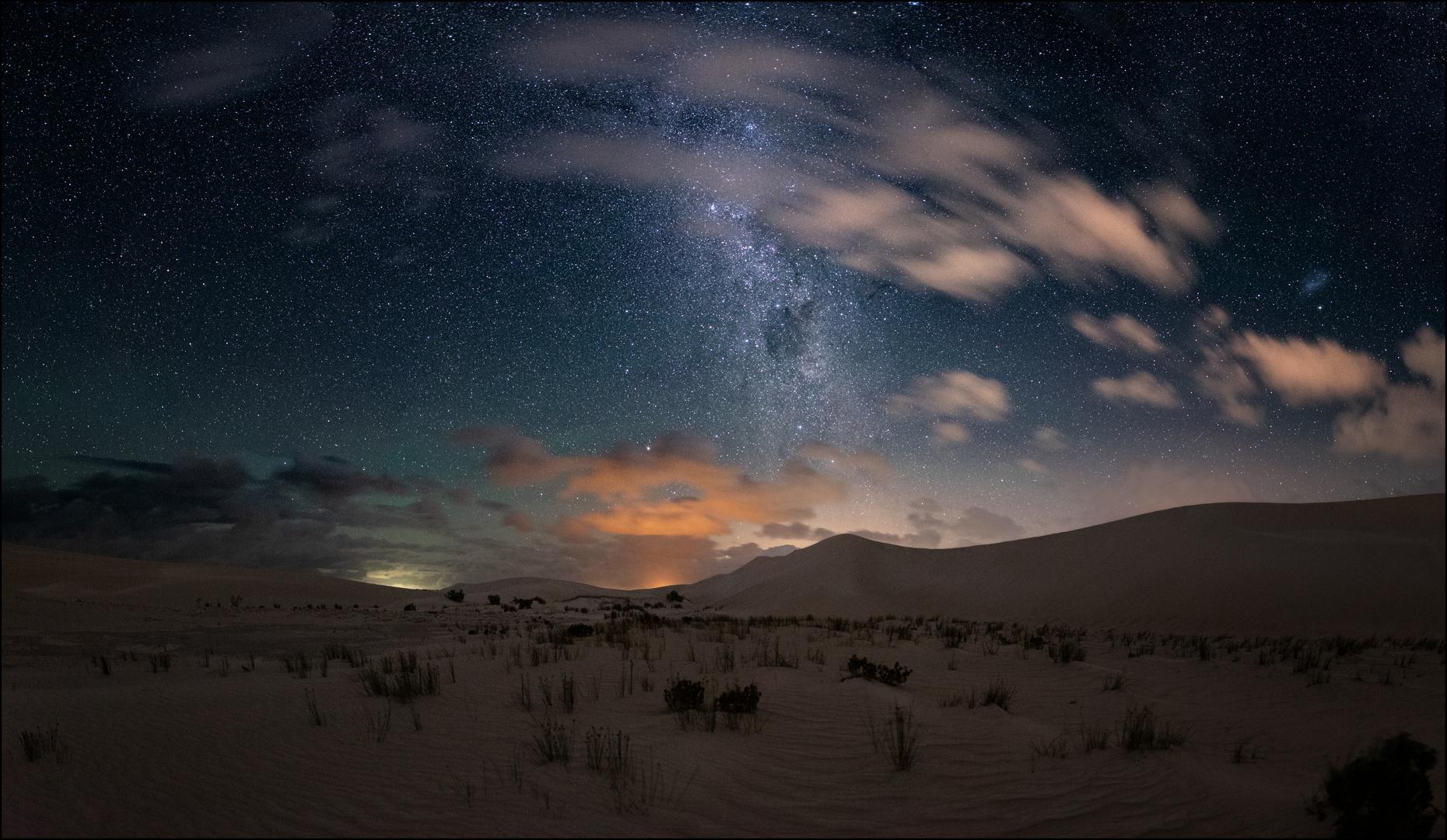 * Aurora Milky Way Australien *