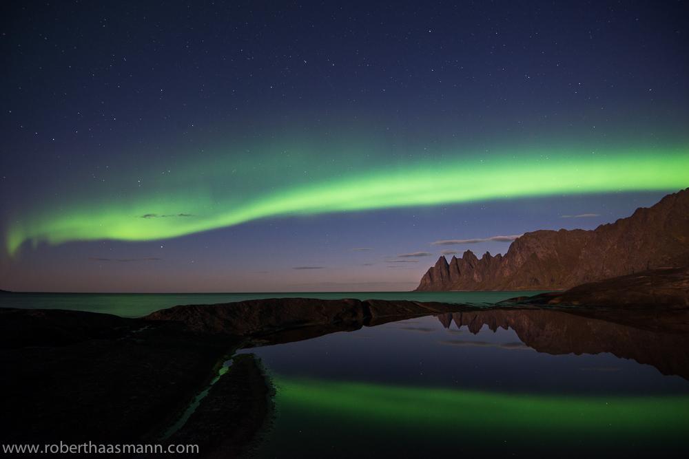 Aurora über Senja