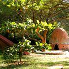 ... Auroville ... Dans un jardin d'enfants ...