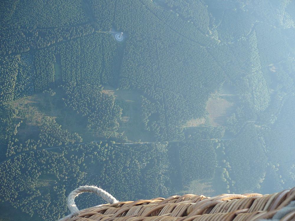 aus 1600 m