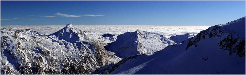 Aus 3500 Metern ein Blick aufs Meer (2. Version)