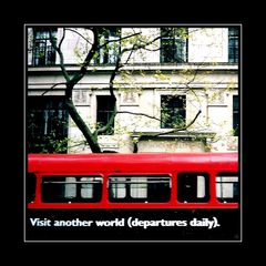 Aus dem Karton - from the old shoebox 3: Visit another world