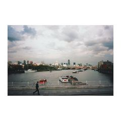 Aus dem Karton - from the old shoebox 6: Themse - Thames