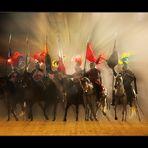 Aus dem Nebel da kamen die Ritter!!! Na..... wer ist als erstes unten!