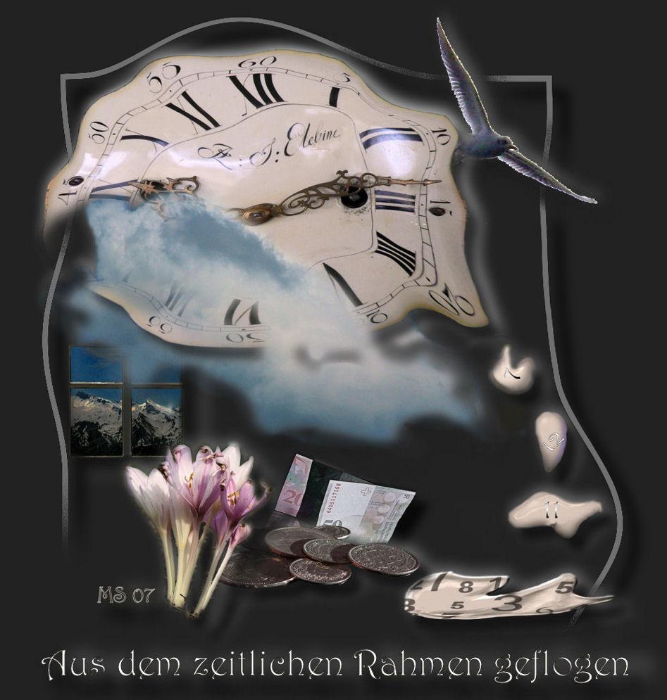 Aus dem zeitlichen Rahmen geflogen - Bild & Foto von Martin Schibig ...
