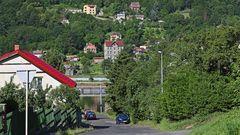 Aus der Kategorie schöner wohnen am Stau der Labe (Elbe) ....