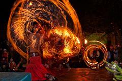 Aus einer Feuershow