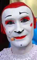 """Aus meiner Portraitserie Clowns .""""Gensi"""" Können diese Augen lügen????"""
