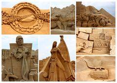 Aus Sand gebaut