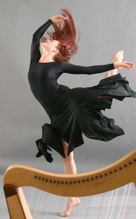 aus tatjanas pas des deux mit der harfe