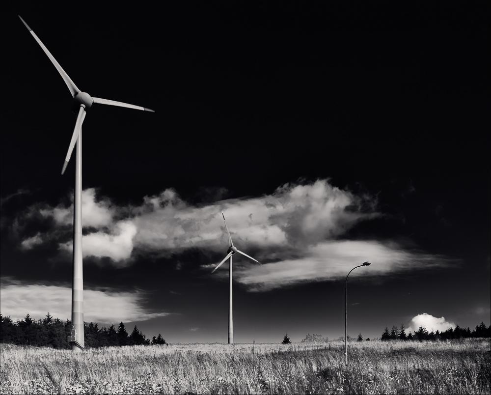 Aus Wind wird Licht