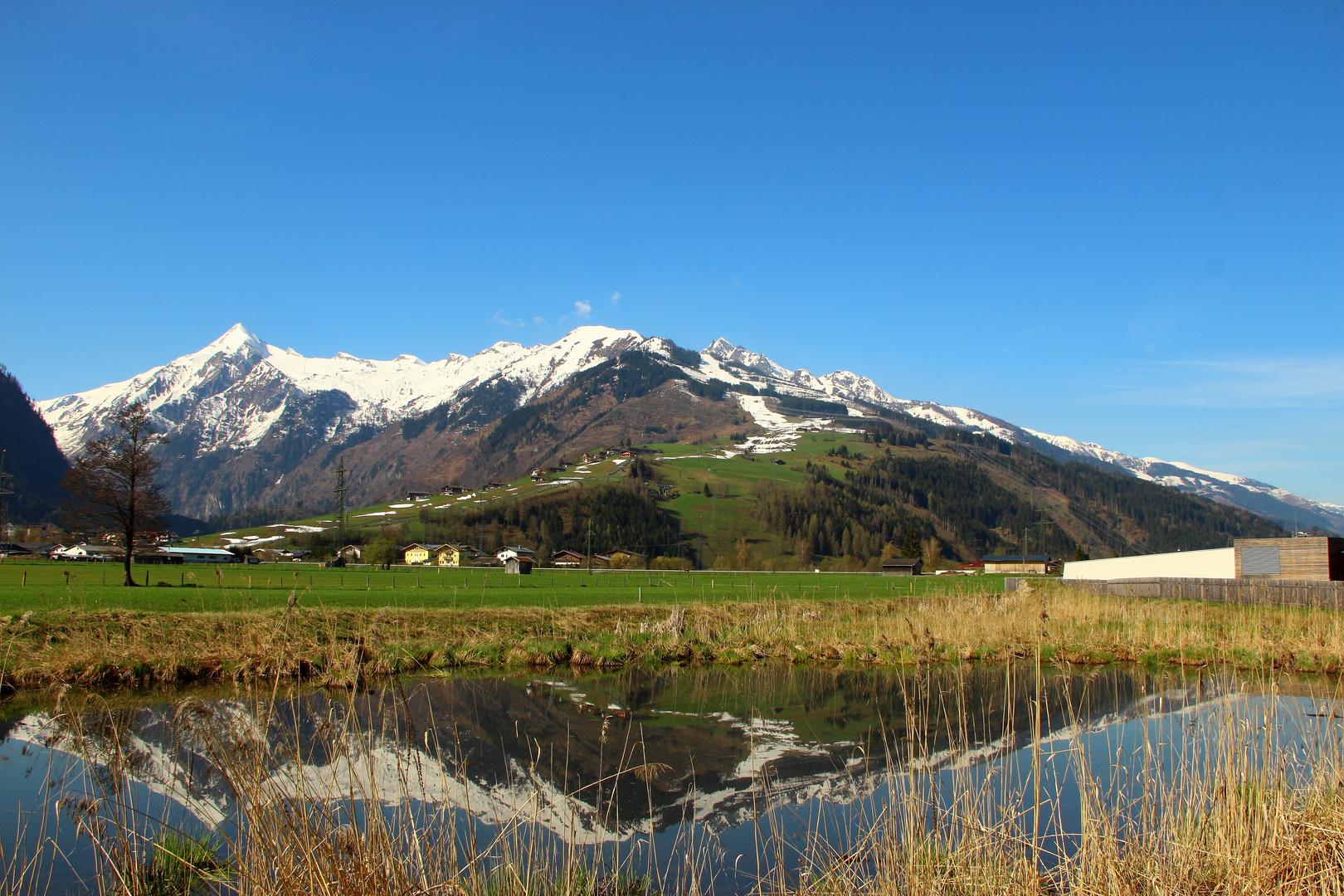 Ausblick auf den Kitzsteinhorn