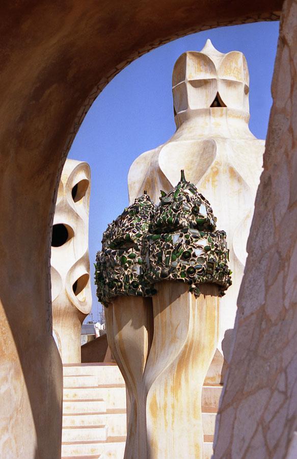 Ausblick auf Gaudi