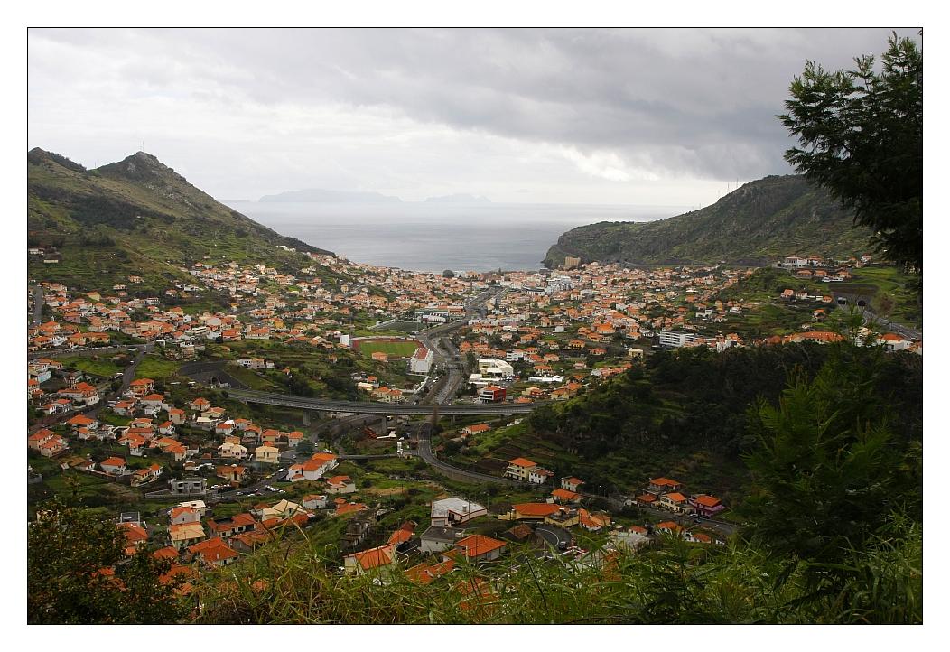 Ausblick auf Machico