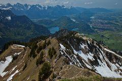 Ausblick Gipfel Branderschrofen
