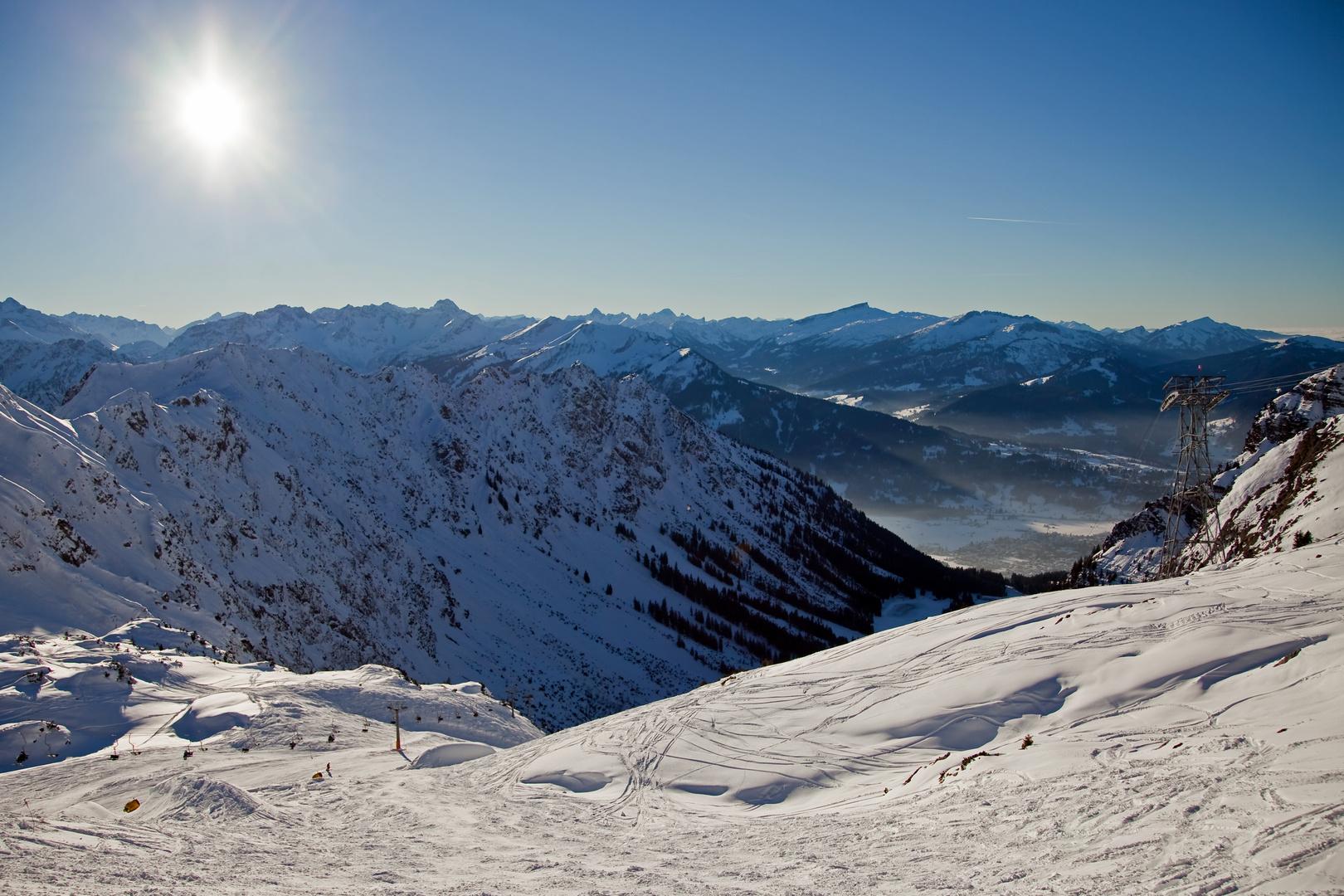 Ausblick Nebelhorn....