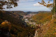 Ausblick Schloss Lichtenstein