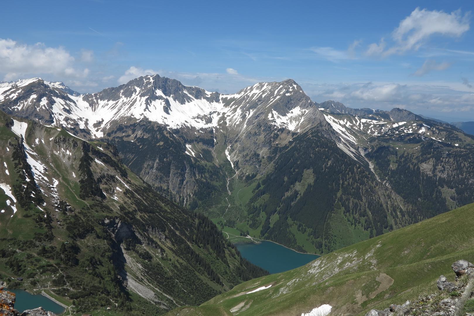 Ausblick Schochenspitze...
