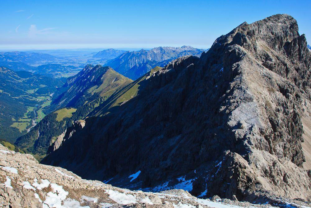 Ausblick Steinschartenkopf (2.615 m)